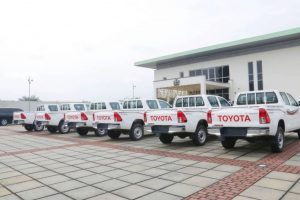 Governor Emmanuel donates 30 patrol trucks…reactivates Joint Security Team